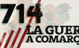 Imagen de 1714, la guerra a comarques en xip/tv (Cataluña)