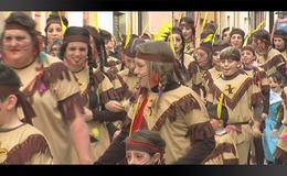 Imagen del vídeo Rua de Carnestoltes de La Bisbal d'Empordà 2017